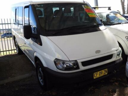 2004 Ford Transit VH Low Roof SWB White 5 Speed Seq Manual Auto-Clutch Van