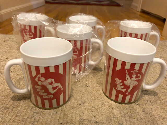Vintage NYC New York City Ballet Thermal Mugs     New/Unused