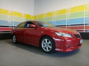 2007 Toyota Camry ACV40R Sportivo Crimson Red 5 Speed Automatic Sedan Wangara Wanneroo Area Preview