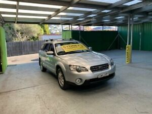 2005 Subaru Outback B4A MY05 Premium Pack Silver Manual Wagon Croydon Burwood Area Preview