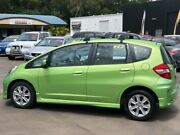 2012 Honda Jazz GE MY12 VTi Fresh Lime 5 Speed Automatic Hatchback Caloundra West Caloundra Area Preview