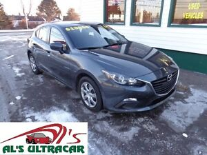 2014 Mazda3 GX-SKY Sport wagon for only $128 bi-weekly all in!