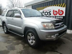 2004 Toyota 4Runner LIMITED (7 PASSAGERS - 8 ROUES ET PNEUS)