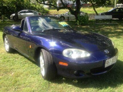 2003 Mazda MX-5 NB30P4 Blue Manual Softtop