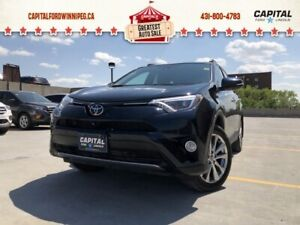 2018 Toyota RAV4 Limited AWD LOCAL TRADE REMOTE START LEATHER SU