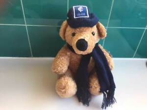 CARLTON BEAR WITH SCARF - OFFICIAL AFL**NEW**
