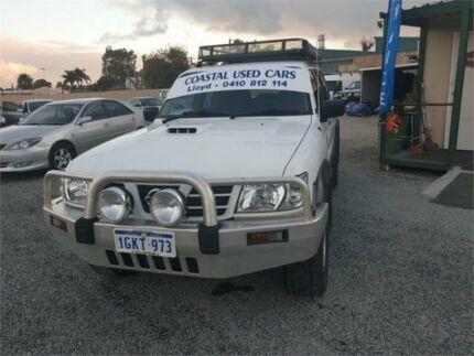 2003 Nissan Patrol GU III ST (4x4) White 5 Speed Manual Wagon Mandurah Mandurah Area Preview