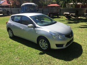 2015 Nissan Pulsar C12 ST Silver Continuous Variable Hatchback Clontarf Redcliffe Area Preview