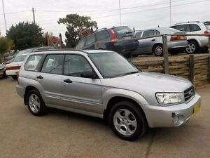 2002 Subaru Forester 79V MY03 XS AWD Luxury Silver 4 Speed Automatic Wagon North St Marys Penrith Area Preview
