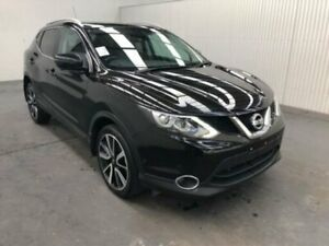 2016 Nissan Qashqai J11 TI Black Continuous Variable Wagon Moonah Glenorchy Area Preview
