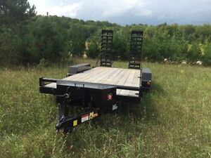16 Foot Float Trailer with Accessories, 5 Ton, New 2015