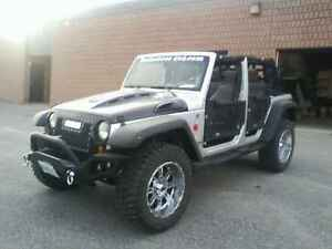 2008 Jeep Wrangler Customized B.A.M. Edition Sahara Un