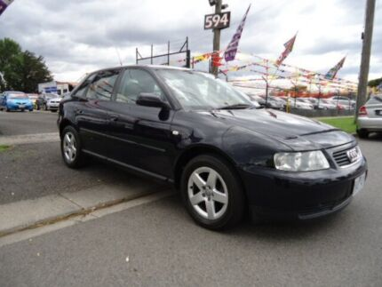 2003 Audi A3 1.8 Blue 5 Speed Manual Hatchback Brooklyn Brimbank Area Preview