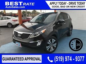 KIA SPORTAGE EX - APPROVED IN 30 MINUTES - REBUILD YOUR CREDIT!