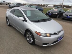 SOLD SOLD SOLD 2008 Honda Civic Cpe Si