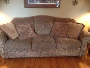 Lazy Bot couch, love seat and recliner