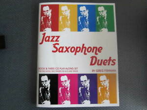 Saxophone music with CD