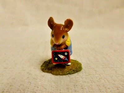 Wee Forest Folk His Lunch Box Special Edition M-347B Mouse Retired