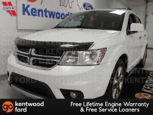 2015 Dodge Journey RT AWD with NAV, sunroof, heated power leathe