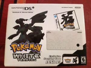 NEW SEALED Pokémon white version DSi console collectors bundle