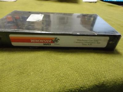 Winchester Gun Safe Consumer Sales Tape- VHS
