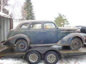 1938 Nash Lafayette project car