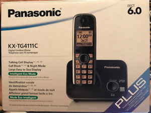 Panasonic Digital Cordless Phone KX-TG4111C telephone