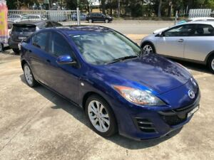 2010 Mazda 3 BL Series 1 Neo Sedan 4dr Activematic 5sp 2.0i Blue Sports Automatic Sedan Bass Hill Bankstown Area Preview