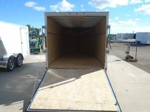 LOWEST PRICED 7X14' ALL ALUMINUM CARGO TRAILER W/RAMP DOOR WOW! London Ontario image 3