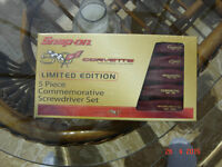 SNAP-ON Limited Edition 50th Anny Corvette Screwdrivers