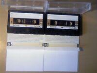 SONY FERRI CHROME 60/90 CASSETTE TAPES VARIOUS VINTAGES 1972-1981 TYPE 3 FECR FE-CR