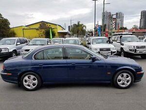 2002 Jaguar S-Type X200 MY2001 SE Blue 5 Speed Automatic Sedan Southport Gold Coast City Preview