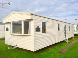 8 Berth static caravan for sale great for sub-letting in Norfolk by the beach - No fees until 2019