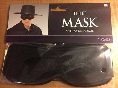 Thief Mask - Dress Up - Halloween - Cosplay - Your Choice
