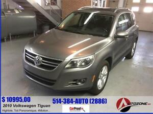 2010 Volkswagen Tiguan Highline/4Motion/Toit Panoramique/Cuir...