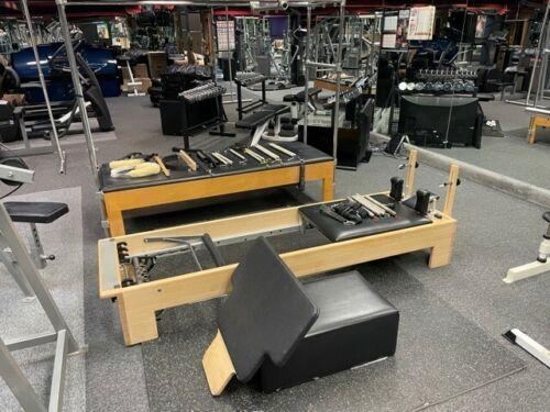 balanced body studio pilates cadillac not reformer premium wood