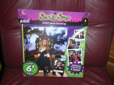 Spooky Halloween Stuff (Spooky Stuff Giant Photo Backdrop 65