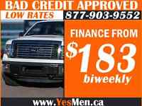 2012 FORD F150 * 4x4 * FROM $183/BiWeekly * BAD CREDIT APPROVALS