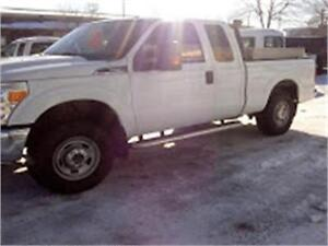 2011 FORD F250 4X4 EXT CAB
