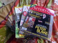 Artists & Illustrators magazines