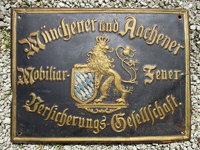 MÜNCHENER und AACHENER VERSICHERUNGS-GESELLSCHAFT EV.: 2 X  um 1897