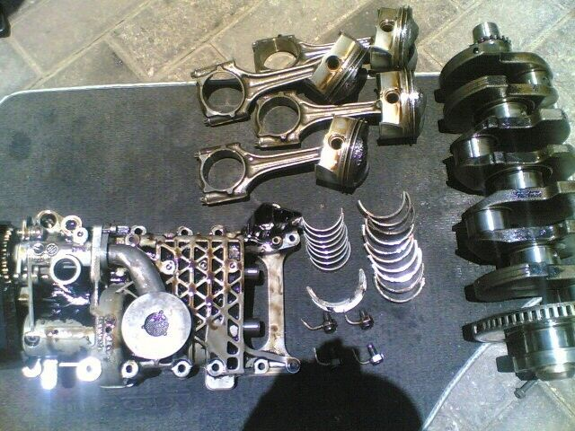 audi A3 20L oil pump fsi none turbo ''BVZ''