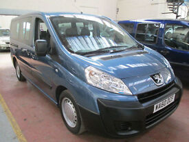 60 PEUGEOT EXPERT WHEELCHAIR ADAPTED DISABLED 50 + ADAPTED VEHICLES IN STOCK