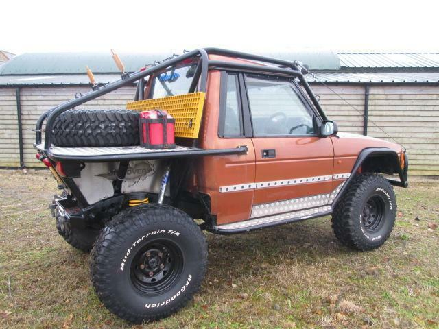 Land Rover Discovery Trayback Off Roader Challenge Truck