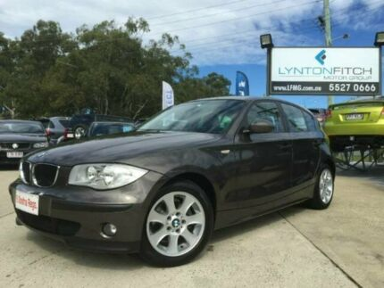 2006 BMW 116i E87 Grey 5 Speed Manual Hatchback Southport Gold Coast City Preview