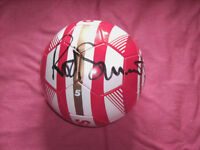 sir rod stewart signed football
