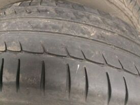 215/55/16 part worm Michelin tyre