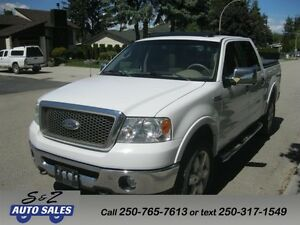 2007 Ford F-150 Lariat Super Crew 3 YEAR WARRANTY!