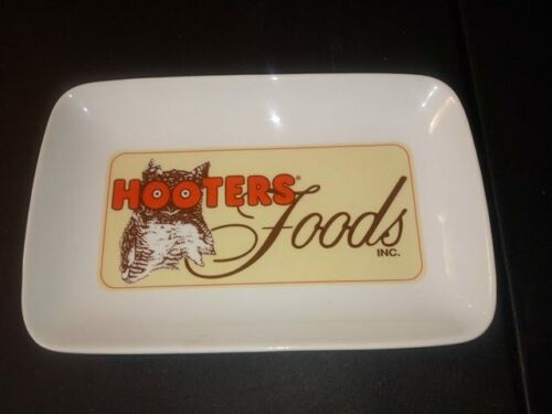 Hooters Foods Serving Dish Plate Wings Appetizer