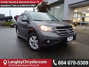 2014 Honda CR-V Touring *ACCIDENT FREE*ONE OWNER*LOCAL BC SUV*